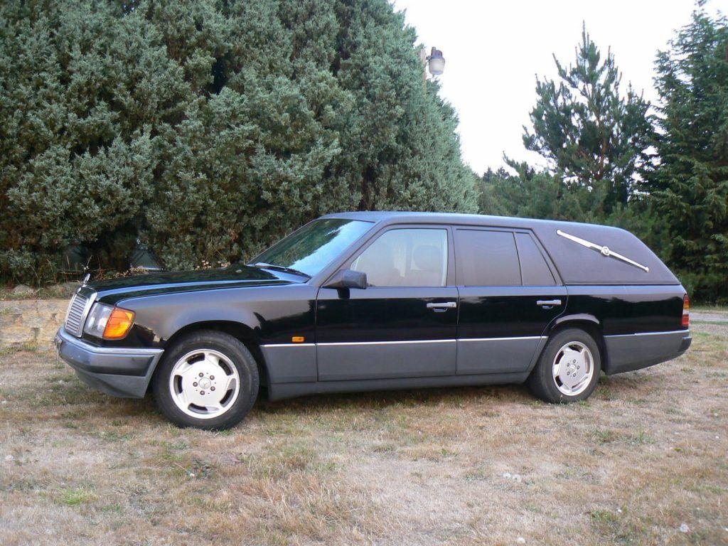 1987 Mercedes Benz W124 Hearse Station Wagon Custom Conversion Body For Sale