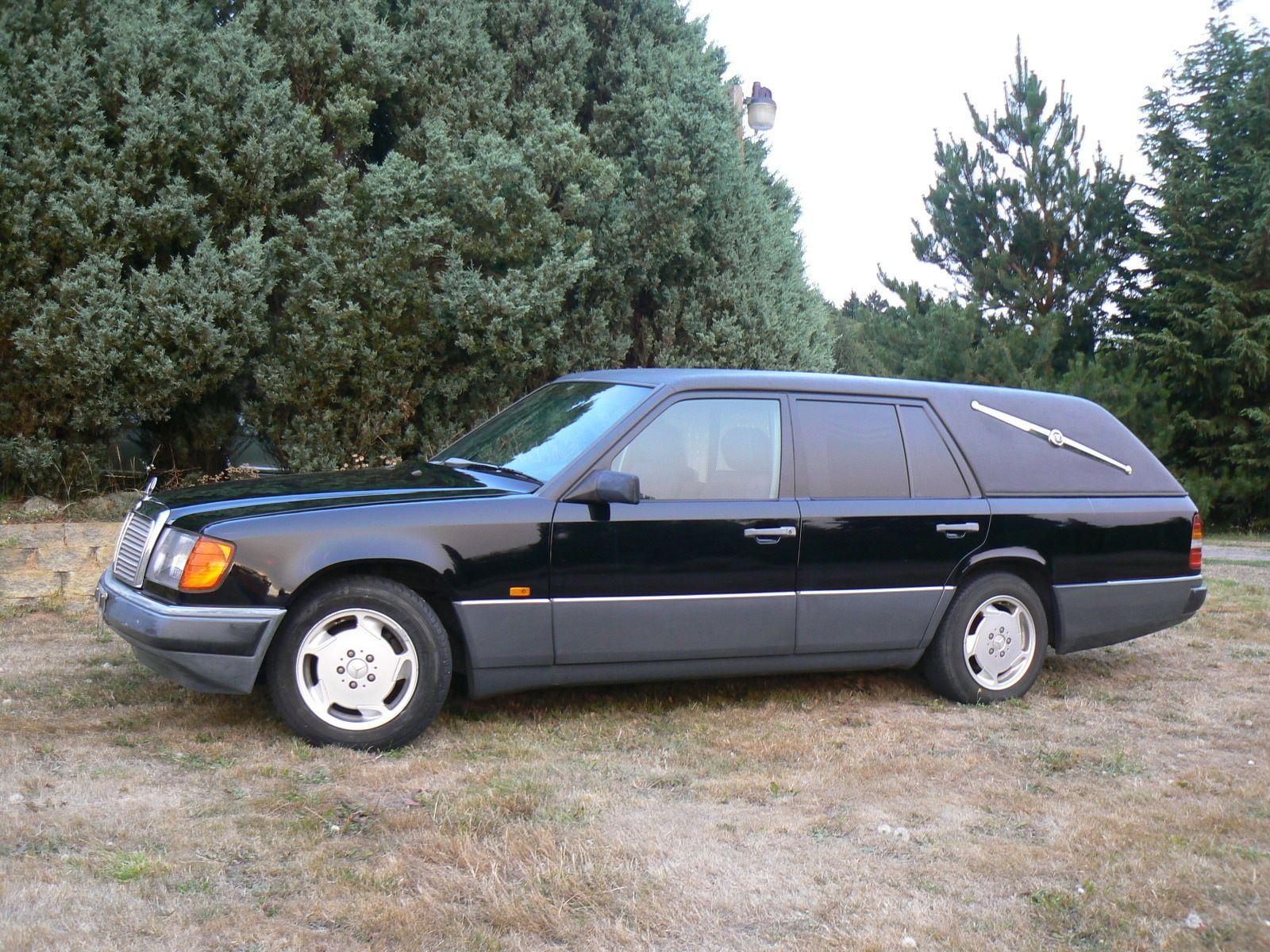 1987 mercedes benz w124 hearse station wagon custom for Mercedes benz station wagon