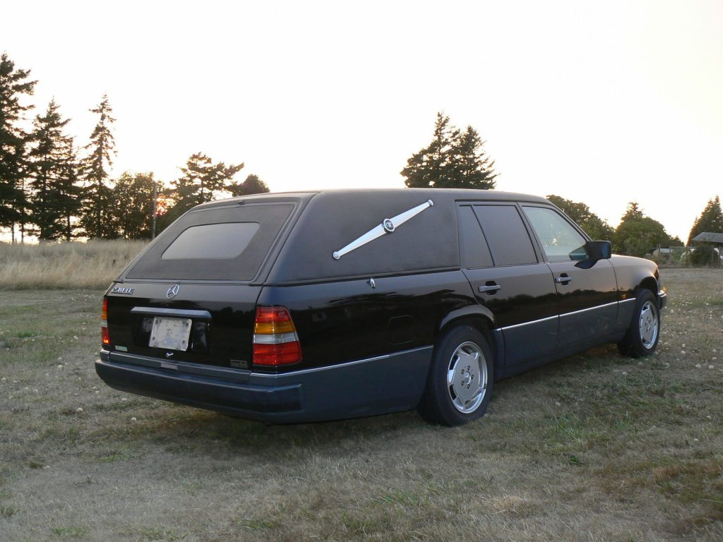 1987 mercedes benz w124 hearse station wagon custom for Custom mercedes benz for sale