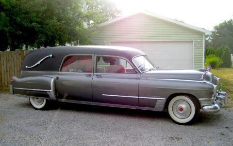 Oldschool 1949 Cadillac S&S Landau Victoria Coach Hearse for sale