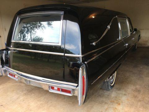 Unmolested 1974 Cadillac Miller Meteor Landau End Loader Hearse for sale