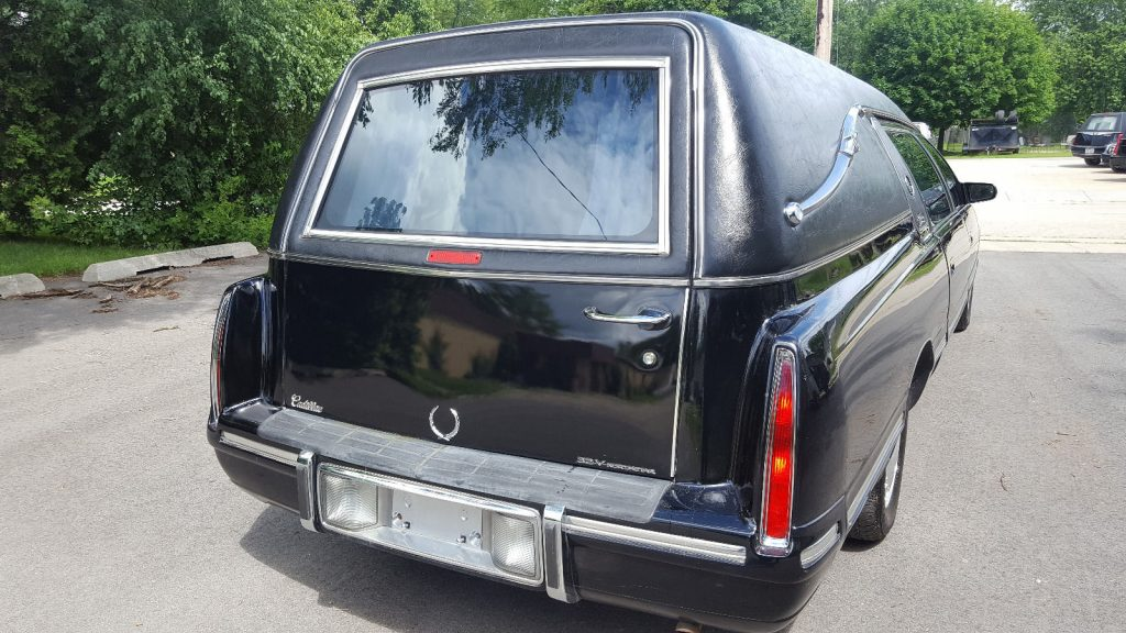 Cadillac Hearse Funeral Coach With Only Miles For Sale X