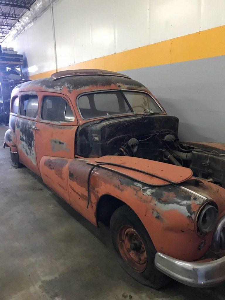 1948 Buick HearseAmbulance For Sale