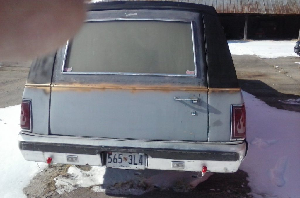 1988 Lincoln Town Car Hearse car