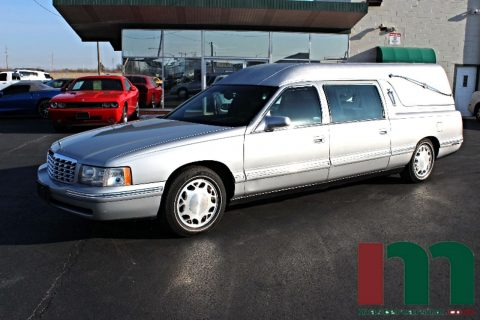 Pristine 1998 Cadillac Deville Federal Coach Conversions Hearse for sale