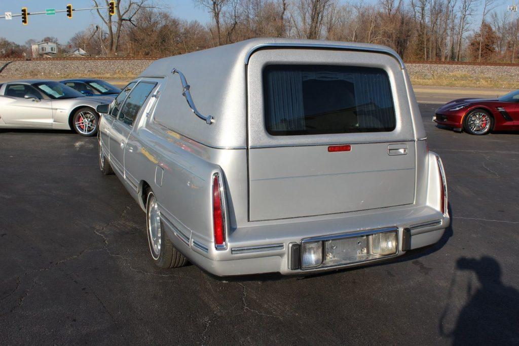 Pristine 1998 Cadillac Deville Federal Coach Conversions Hearse