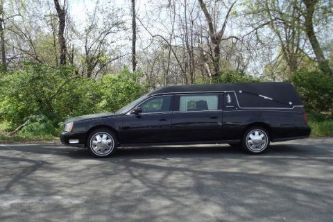 2002 Cadillac Deville Hearse in  EXCELLENT CONDITION for sale