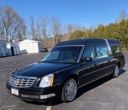 2007 Cadillac DTS Hearse in EXCELLENT CONDITION for sale