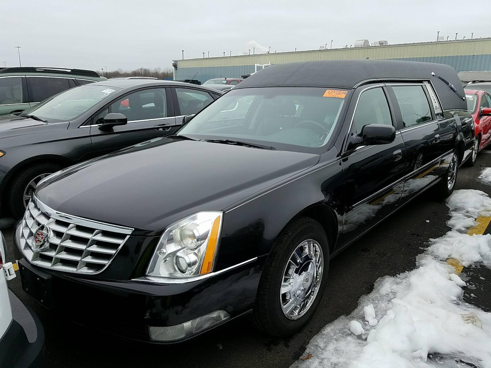 2011 cadillac dts hearse in excellent condition for sale. Black Bedroom Furniture Sets. Home Design Ideas