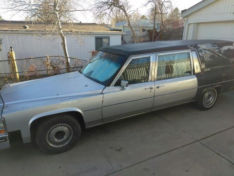 NICE 1981 Cadillac Fleetwood for sale