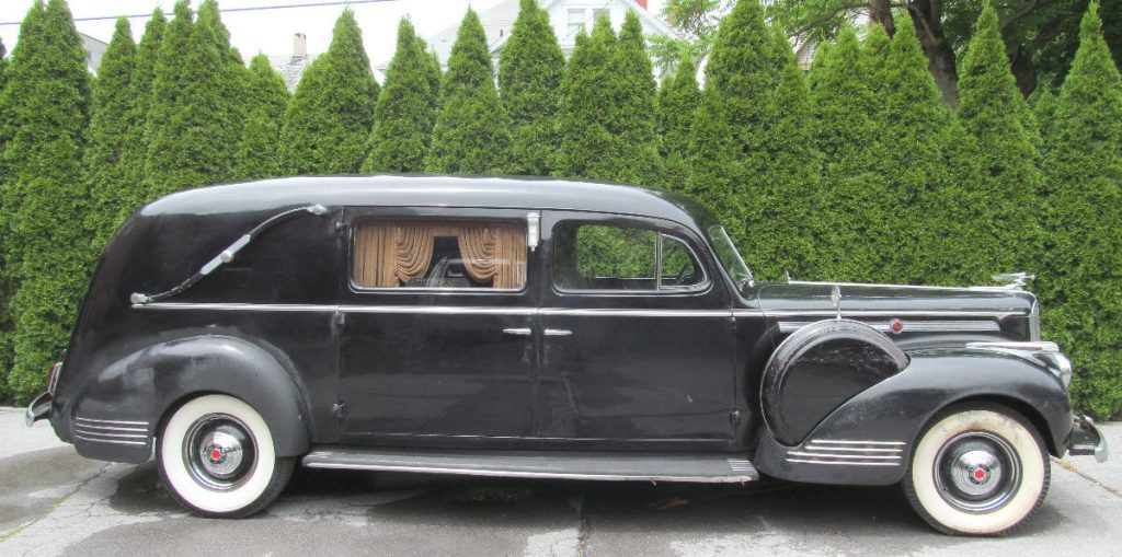 RARE 1942 Packard Henney Hearse