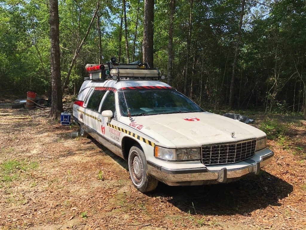 AMAZING 1993 Cadillac Hearse Crome