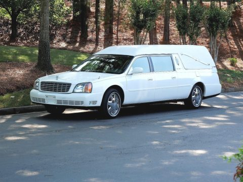 excellent shape 2000 Cadillac DeVille hearse for sale