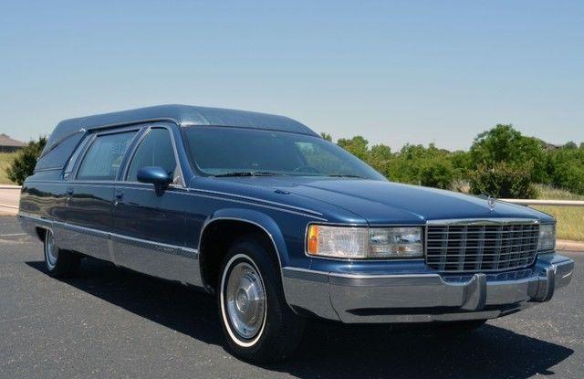 1993 Cadillac Fleetwood Superior Coachbuilders Custom Hearse