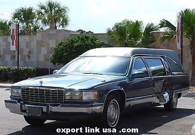 NICE 1996 Cadillac Fleetwood S&S Coachbuilders for sale