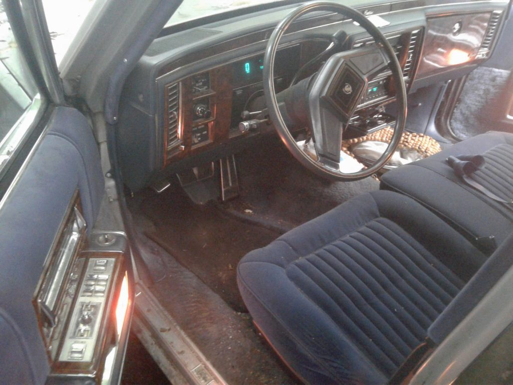1990 Chevrolet Brougham Chrome – runs good