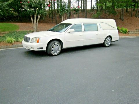 some issues 2002 Cadillac S&S MEDALIST hearse for sale